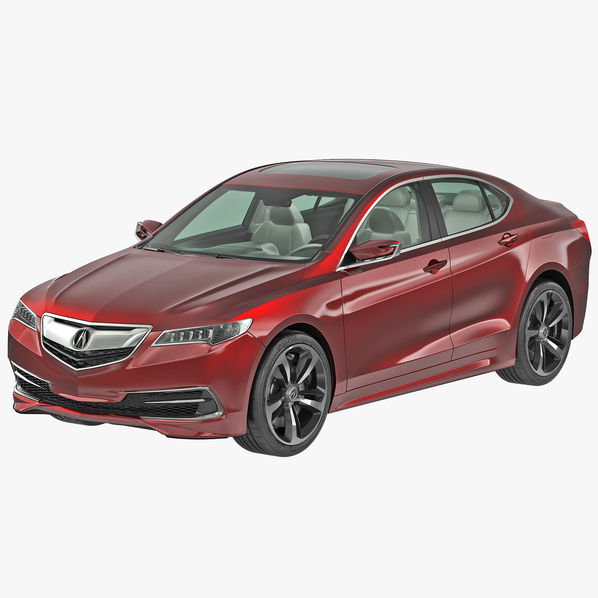 New Acura Tlx: 3d Acura Tlx 2015 Model