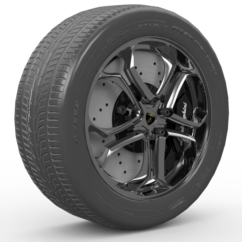 Lamborghini wheel ZR19(1)