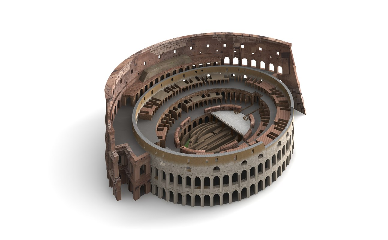 how to build a model colosseum