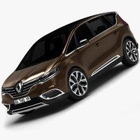 Renault espace 3D models