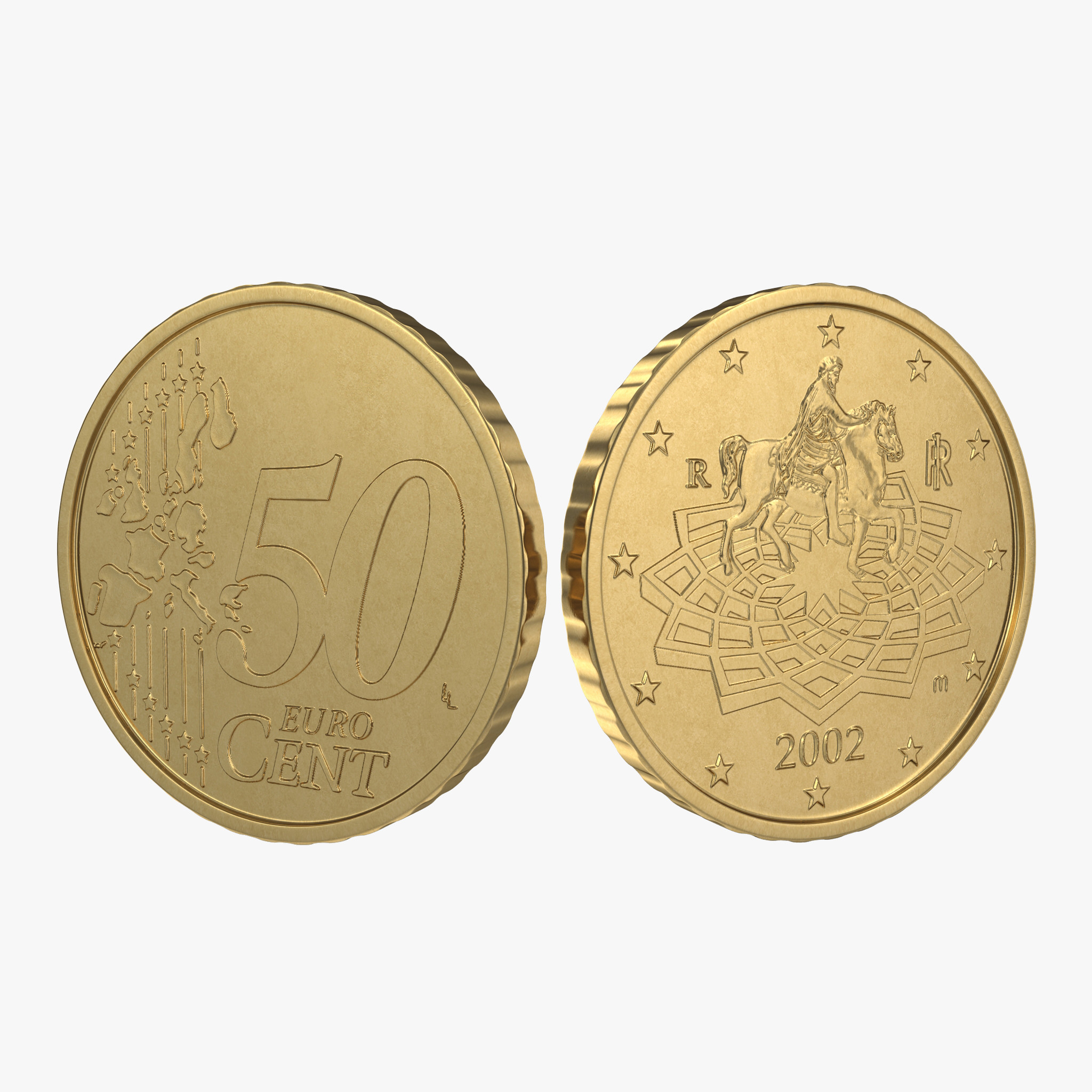 Italian Euro Coin 50 Cent