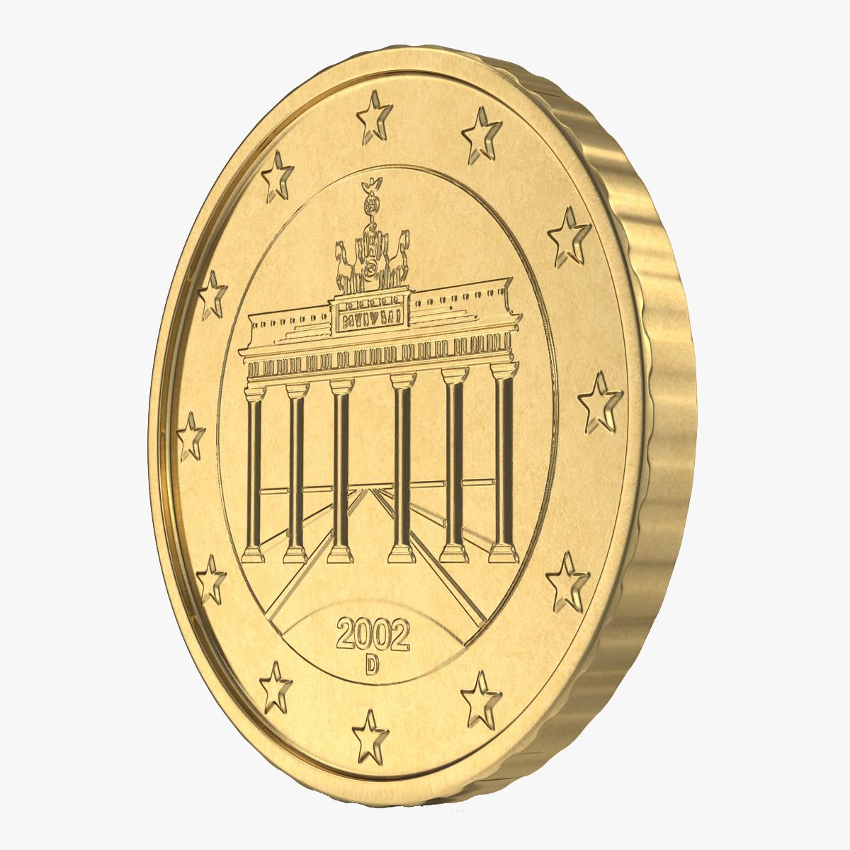 German Euro Coin 50 Cent