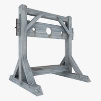stocks 3D models