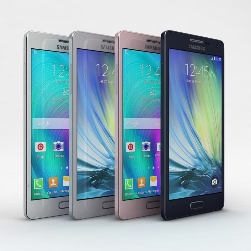 Samsung Galaxy A5 and A5 Duos All Color