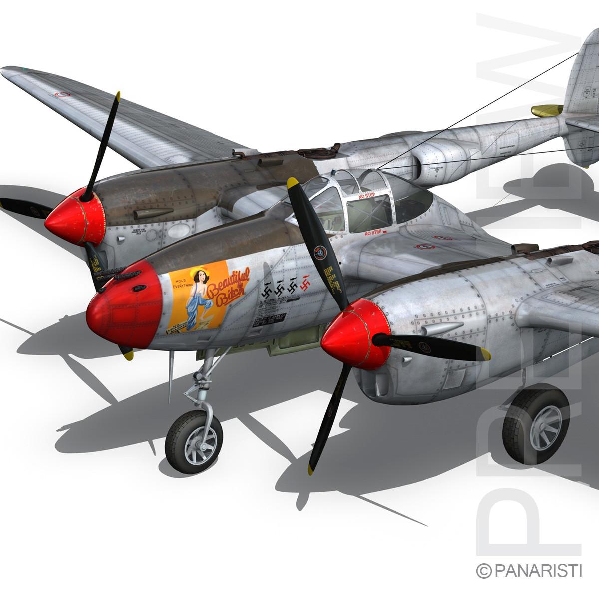 Lockheed P-38 Lightning - Beautiful Bitch