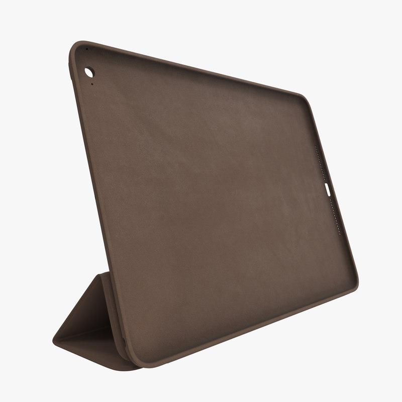 Apple Smart Case Air Brown 3d model 00.jpg