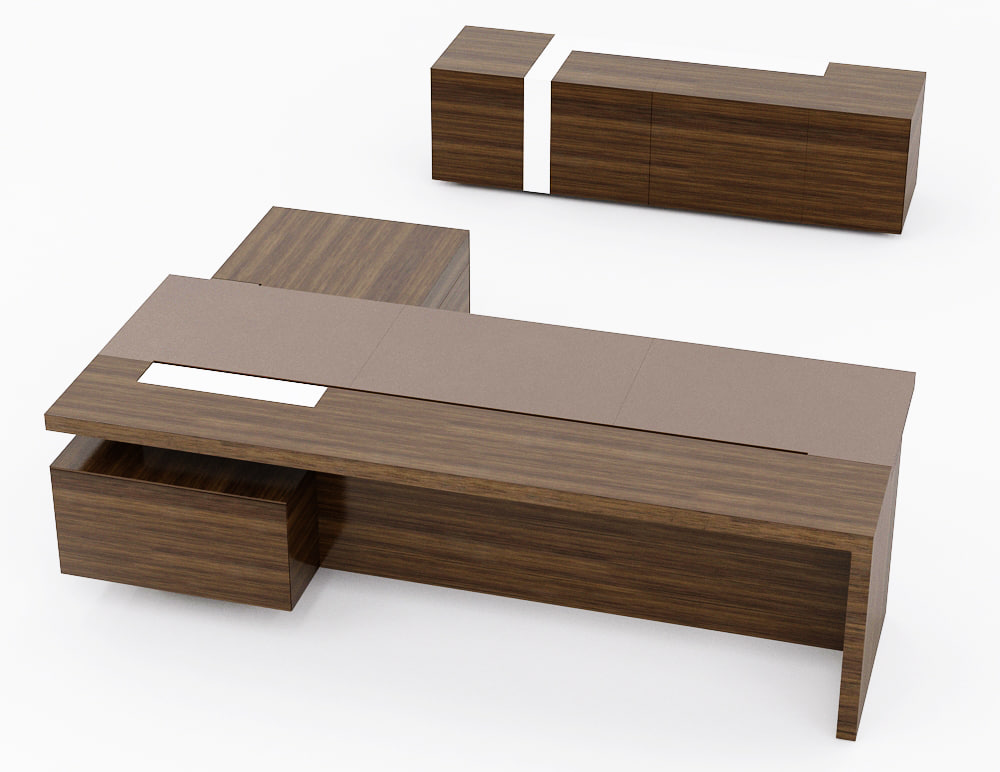 3d Model Walter Knoll Ceoo Table
