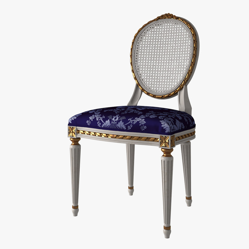 French Louise XVI Oval Dining Chair Cane 01.jpg