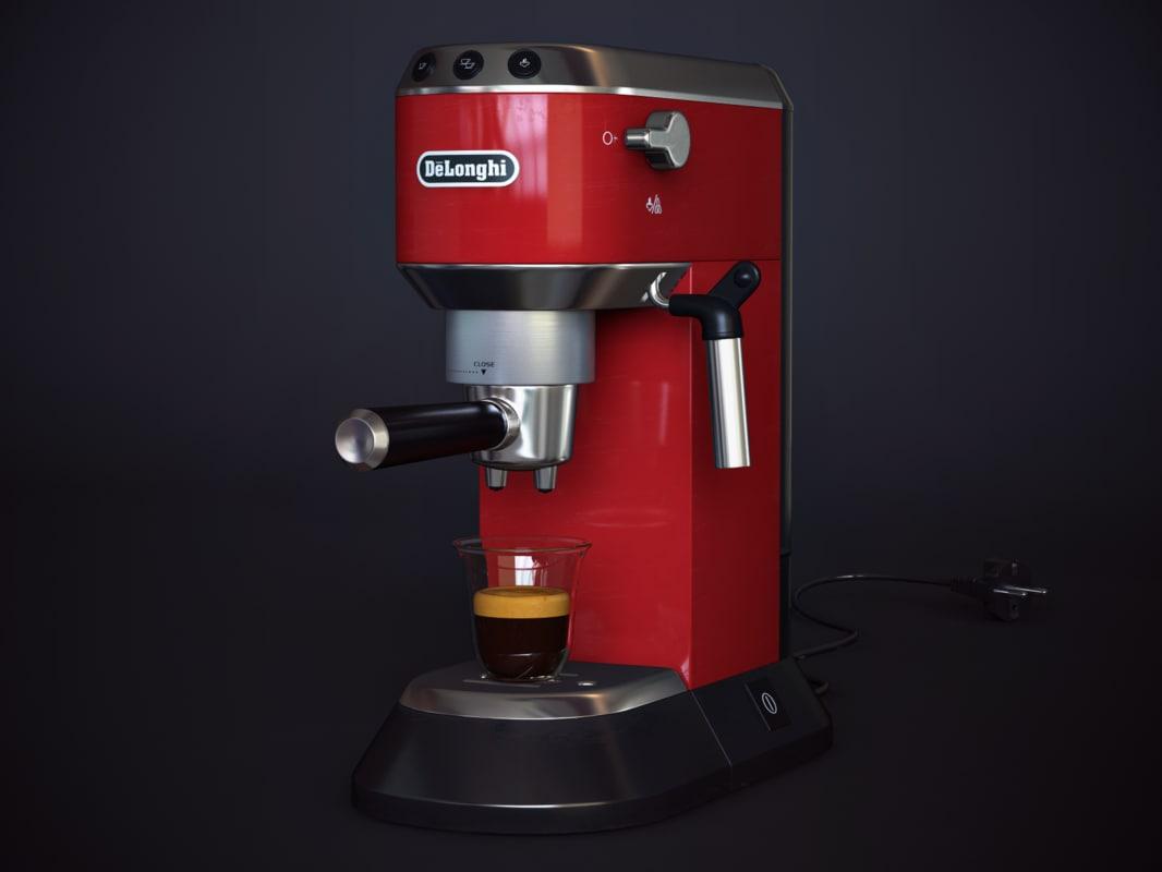 Coffee-machine Delonghi EC 680 3D model