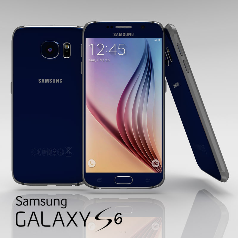 Samsung Galaxy S6 Sapphire Black
