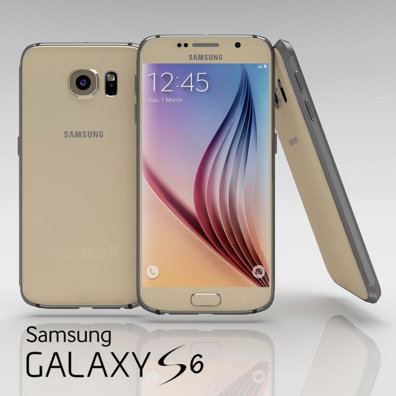 Samsung Galaxy S6 Gold Platinium