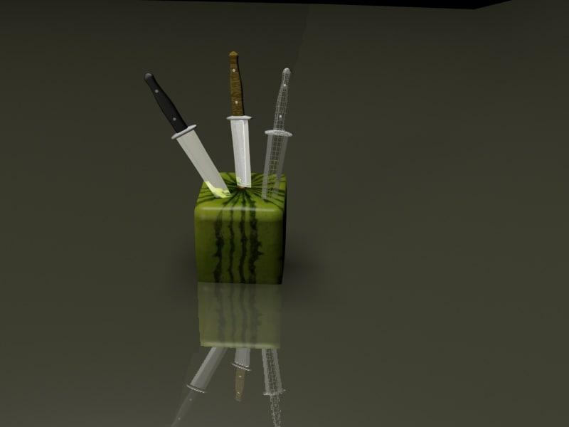 Knife&Cubic; watermelon