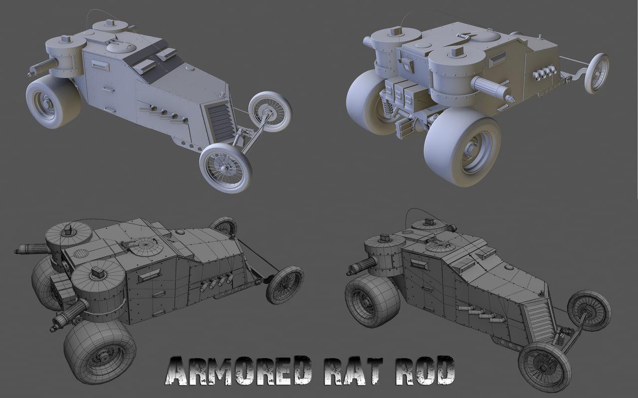 Armored Rat Rod