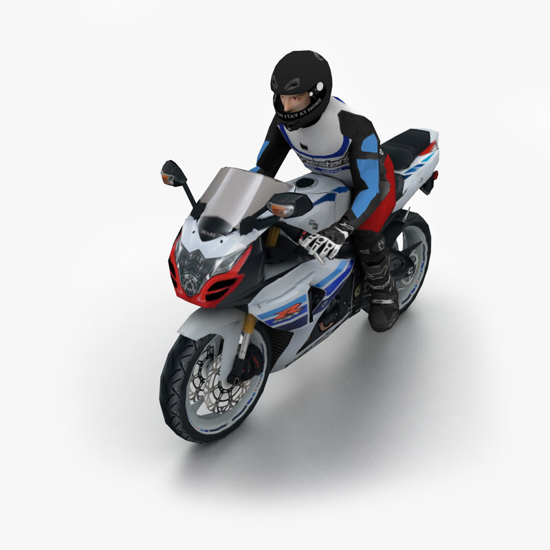 Gsxr 1000 Turbo Grudge Bike: 3d Model 2014 Suzuki Gsx R 1000
