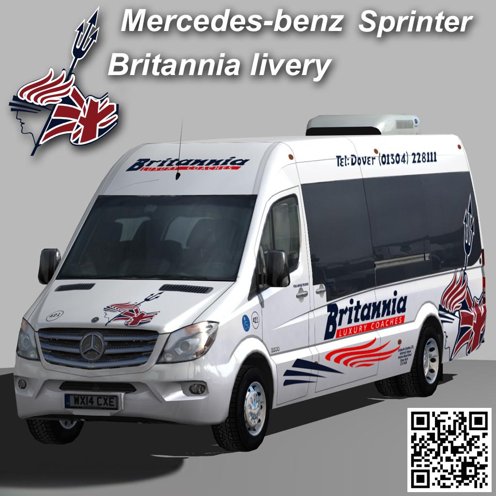 Sprinter Britannia Coaches minibus