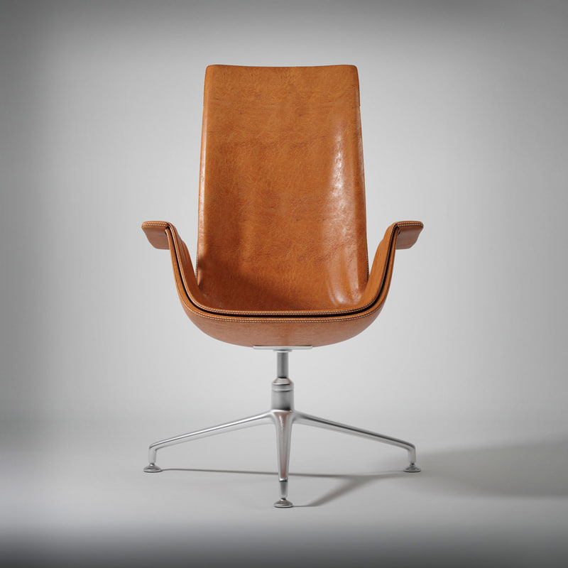 3ds max walter knoll chair
