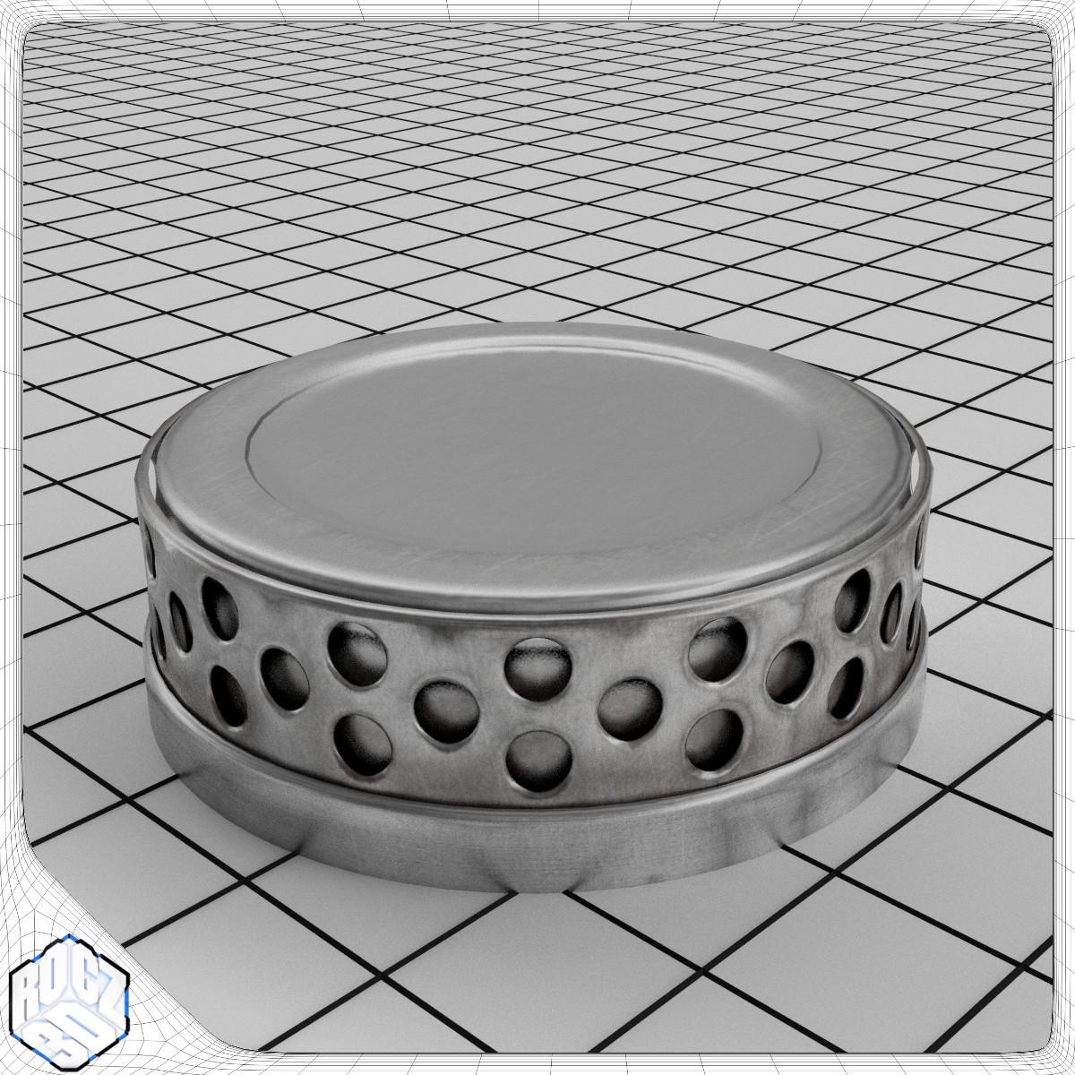 Metal Collar Display Stand_3d Model_1.jpg