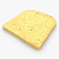 sliced bread 3D models