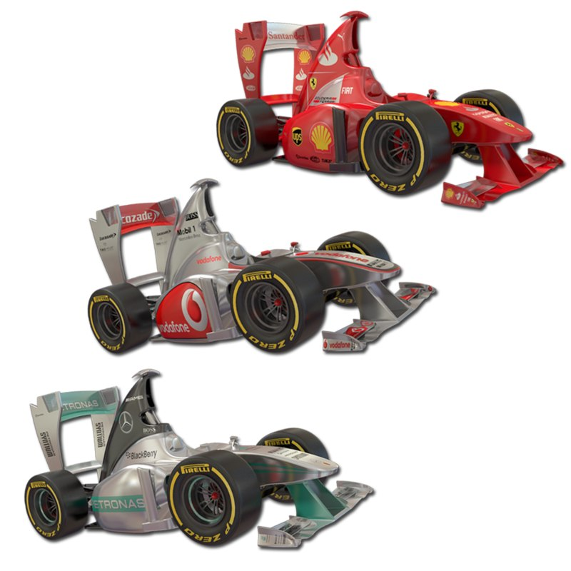 Cartoon Formula 1 Collection