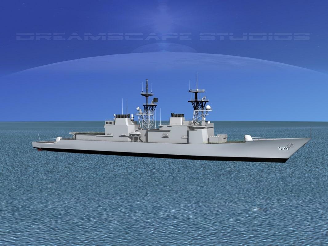 Spruance Class DD971 USS David R Ray