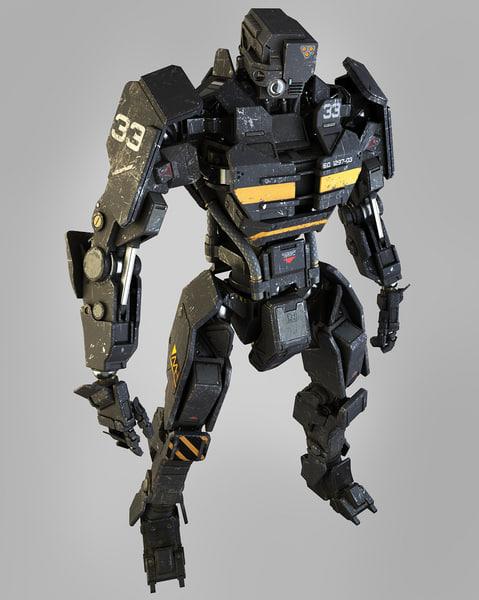ES Soldier Head2 3D Models
