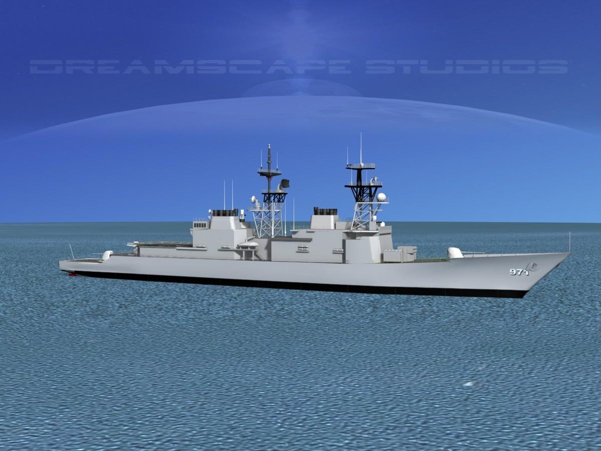 Spruance Class DD971 USS David R. Ray