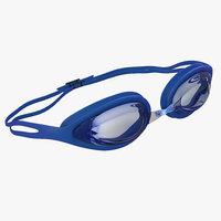 Swim Goggles 3D models