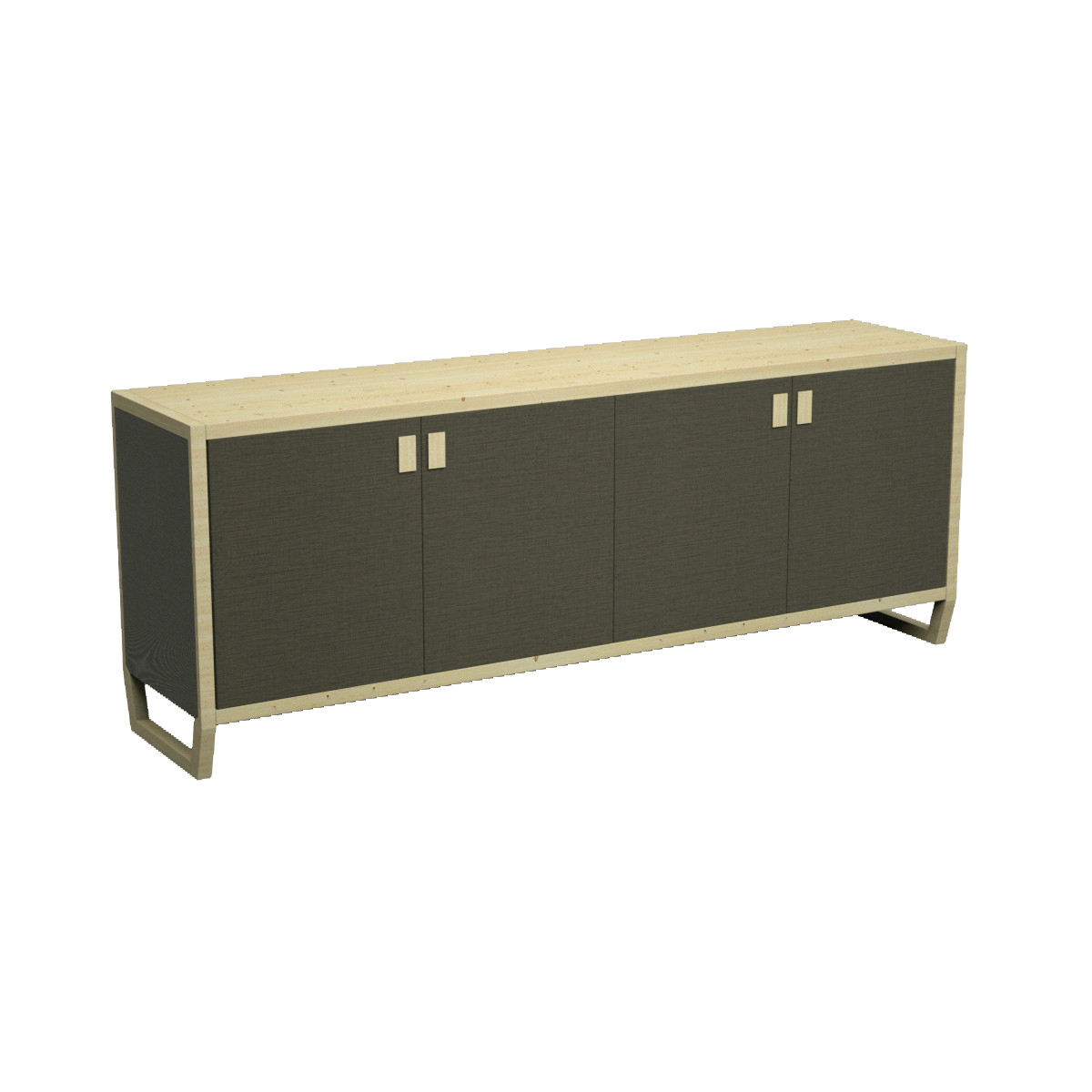 01 pan buffet 1 for Sideboard 3d
