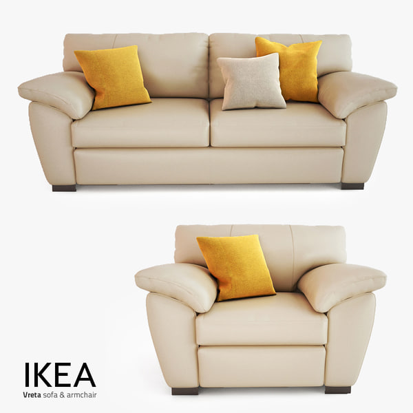 IKEA Vreta Sofas 3D Models