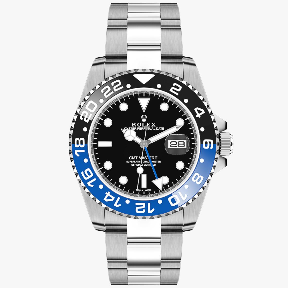 Rolex GMT-Master II Black Blue