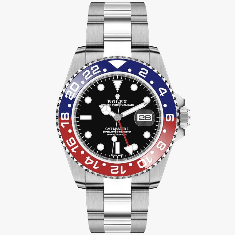 Rolex GMT-Master II Blue Red