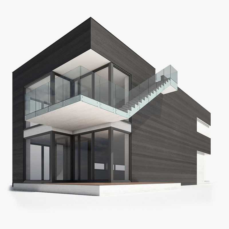 Modern Nordic Wooden House