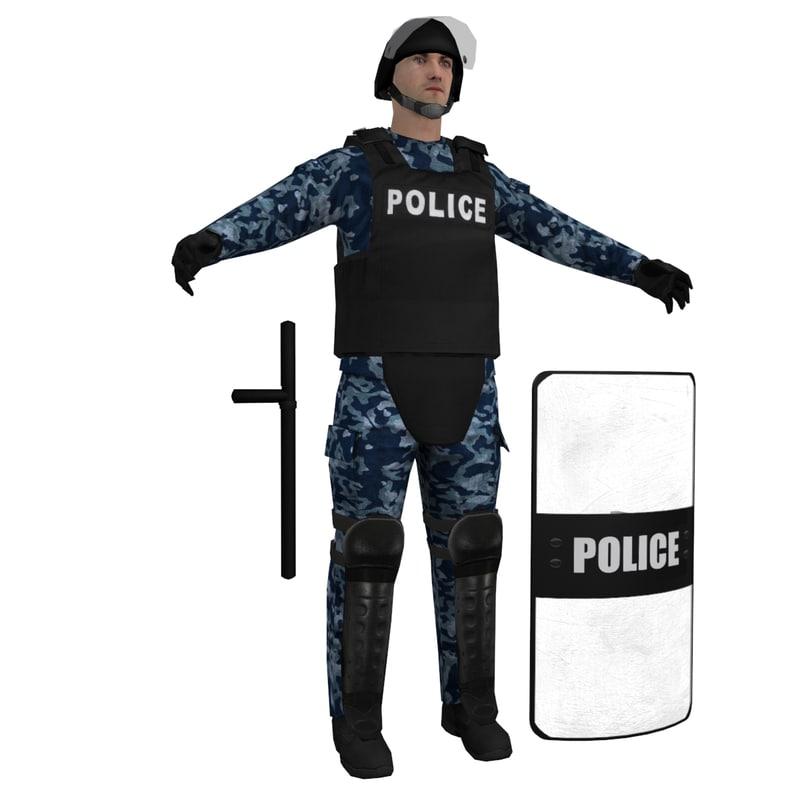 RIOT Police 2 LOD1