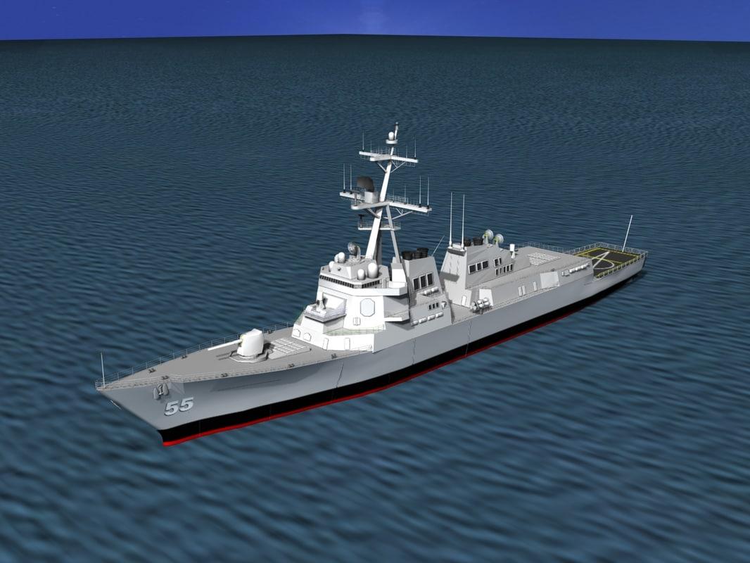Burke Class Destroyer DDG 55 USS Stout