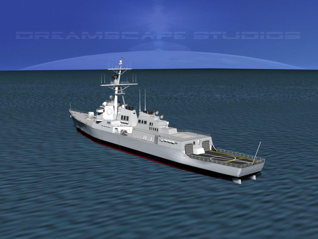 Burke Class Destroyer DDG 53 USS John Paul Jones