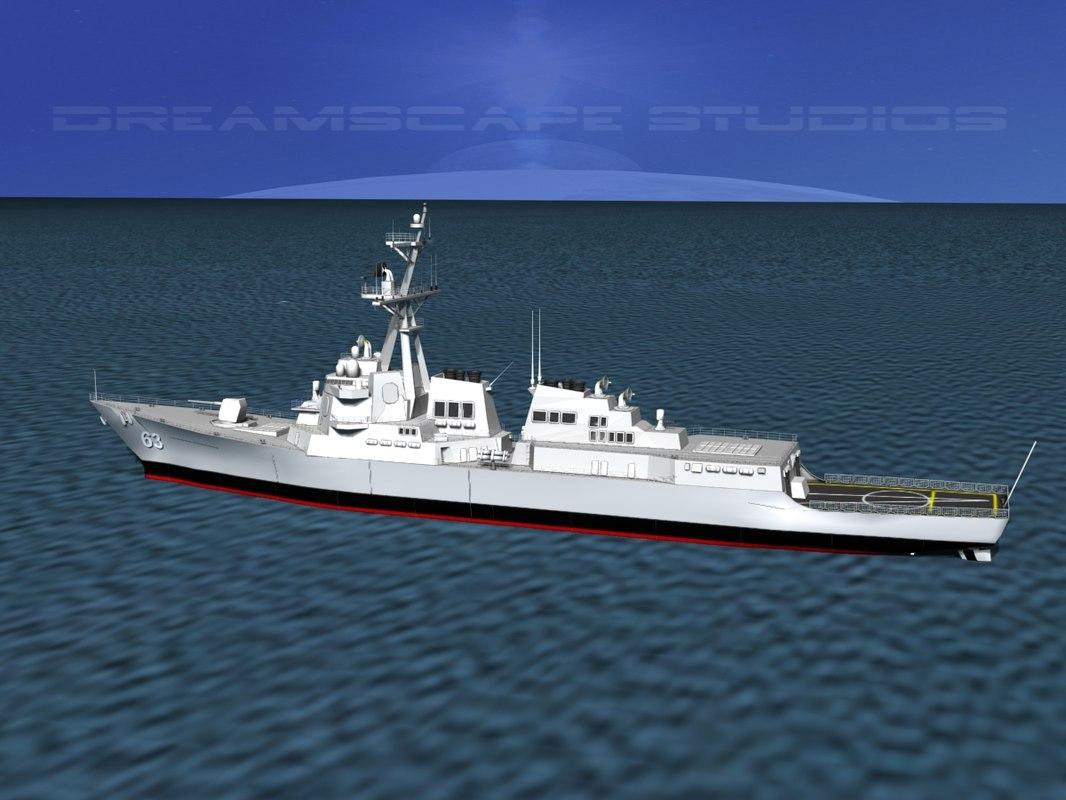 Burke Class Destroyer DDG 63 USS Stethem