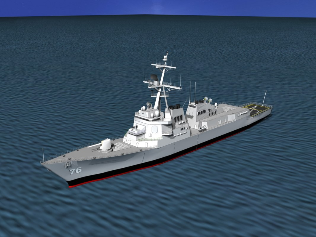 Burke Class Destroyer DDG 76 USS Higgens