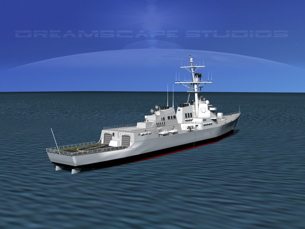 Burke Class Destroyer DDG 85 USS McCampbell
