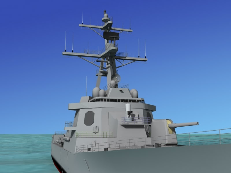 Burke Class Destroyer DDG 96 USS Bainbridge