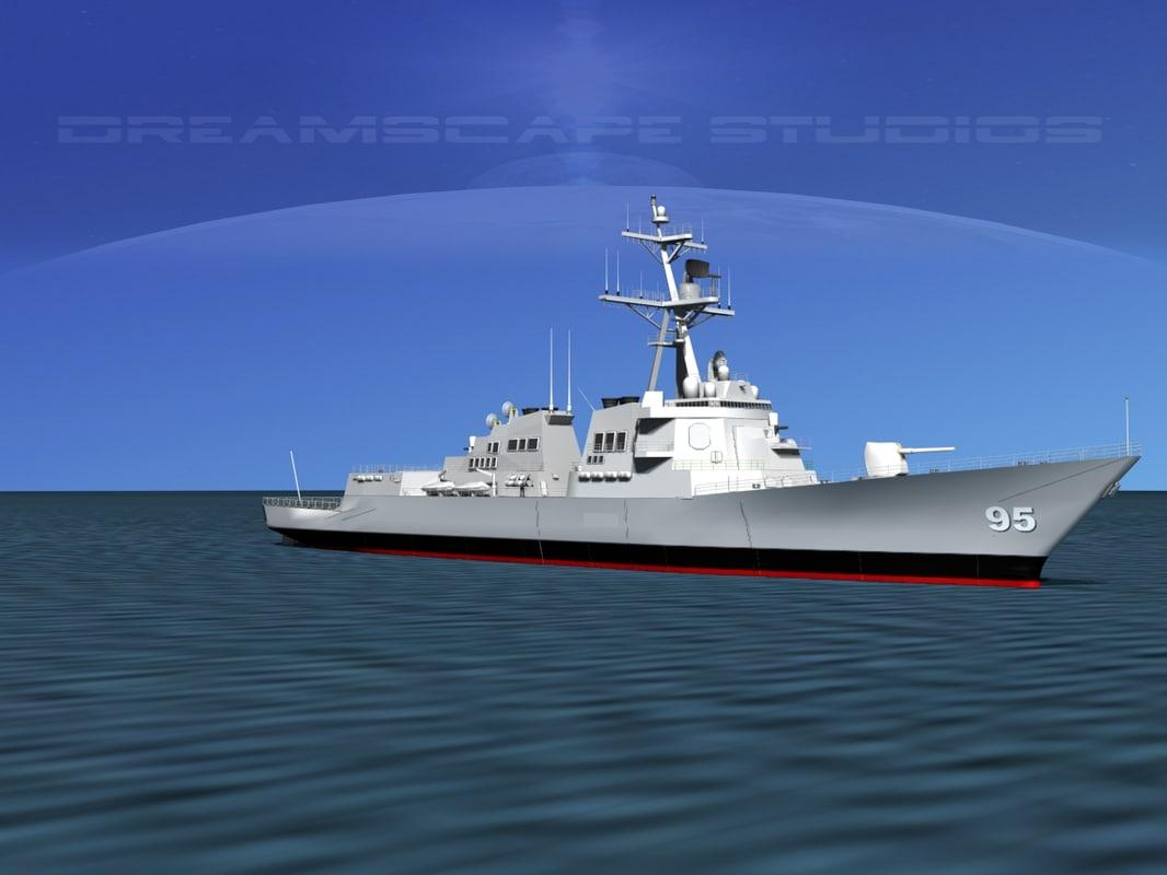Burke Class Destroyer DDG 95 USS James E Williams