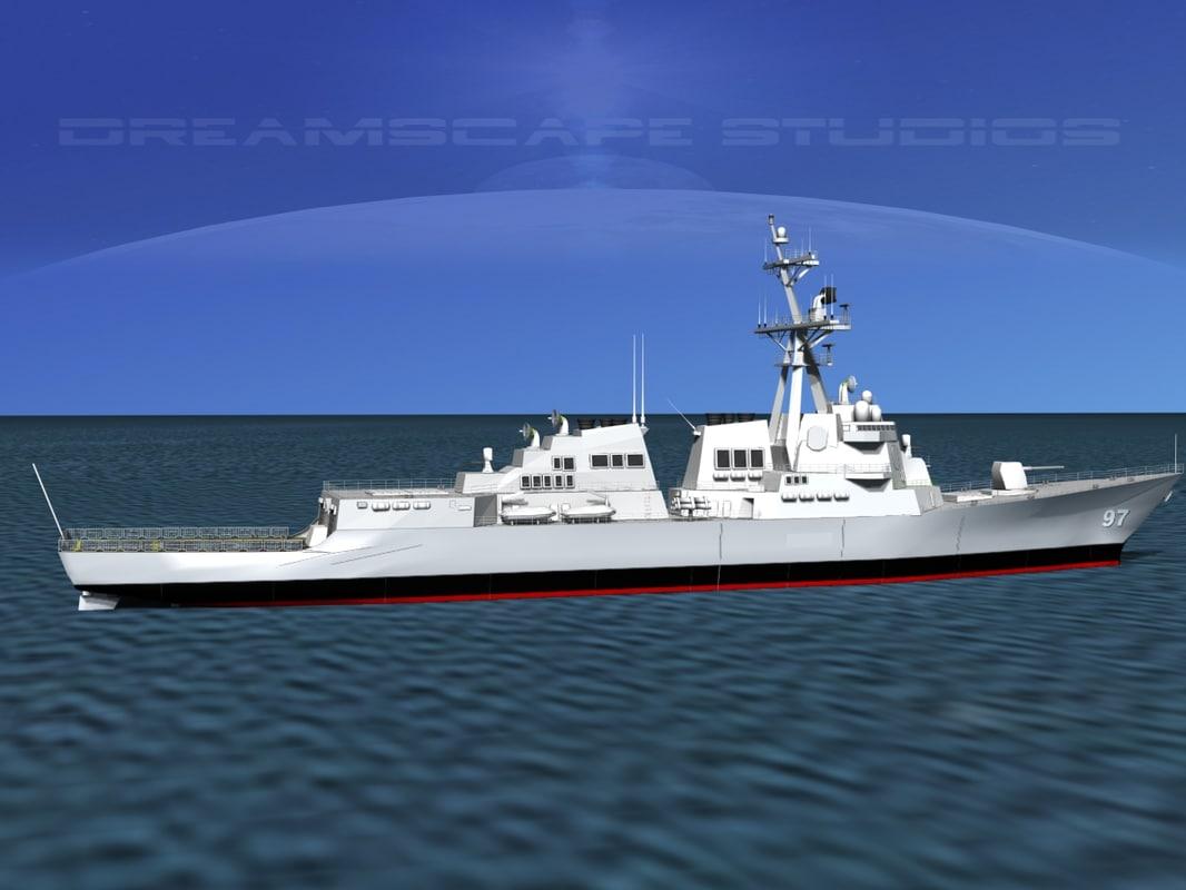 Burke Class Destroyer DDG 97 USS Halsey