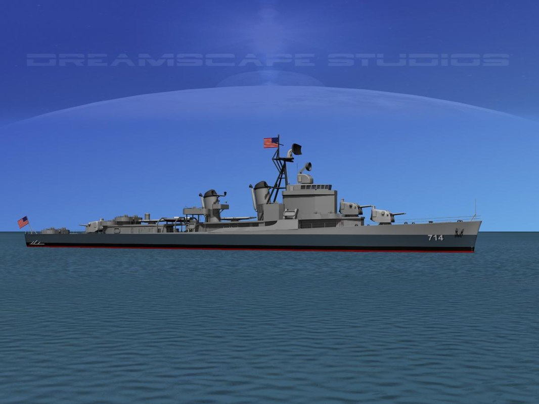 Gearing Class Destroyer DDR-714 William R Rush