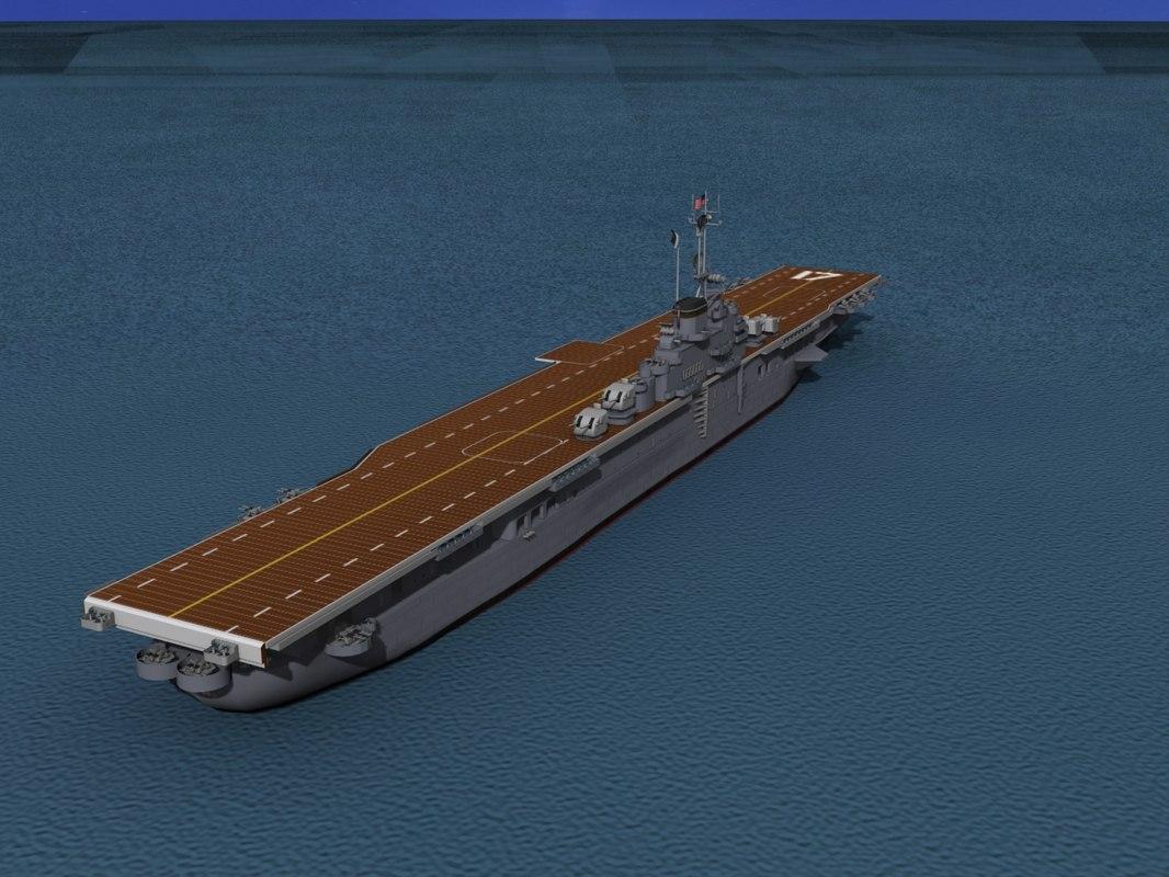 max class carriers essex uss bunker