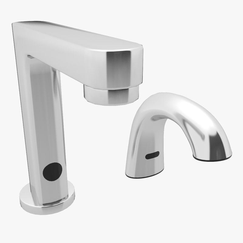 Bathroom Faucet Soap Dispenser 3d Max
