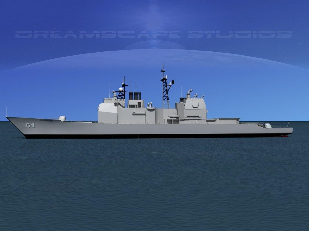 Ticonderoga  Class Cruiser CG-61 USS Monterey