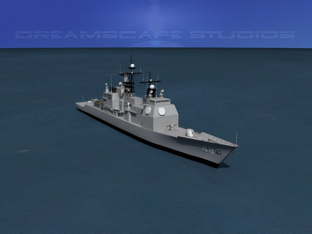 Ticonderoga Class Cruiser CG-48 USS Yorktown