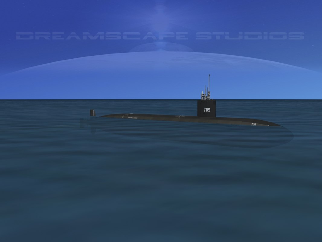 Los Angeles Class USS Hyman G Rickover SSN-709