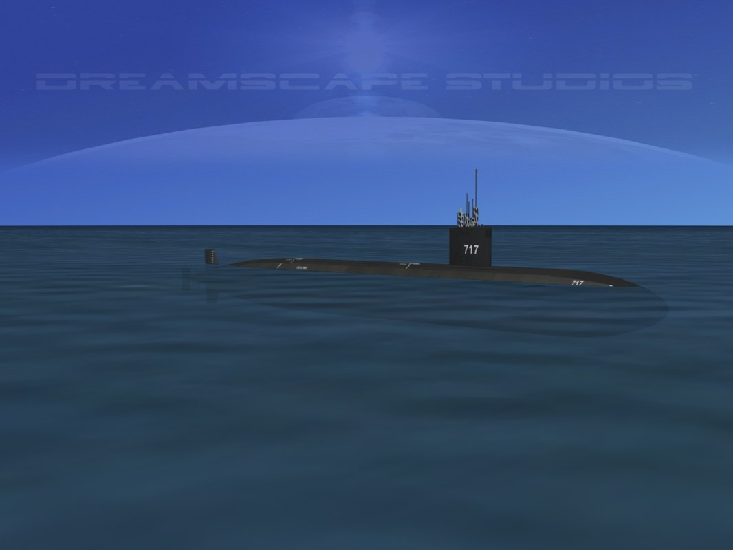 Los Angeles Class USS Olympia SSN-717