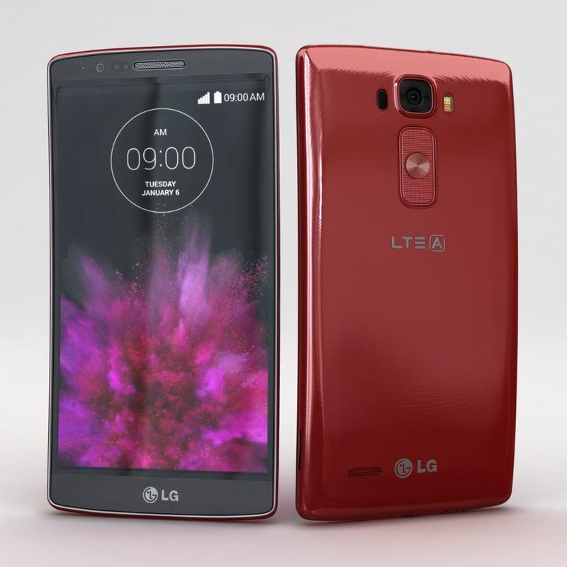 LG G Flex2 Flamenco Red