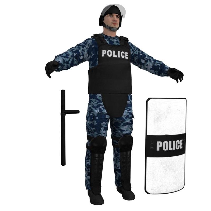 RIOT Police 2 LOD3